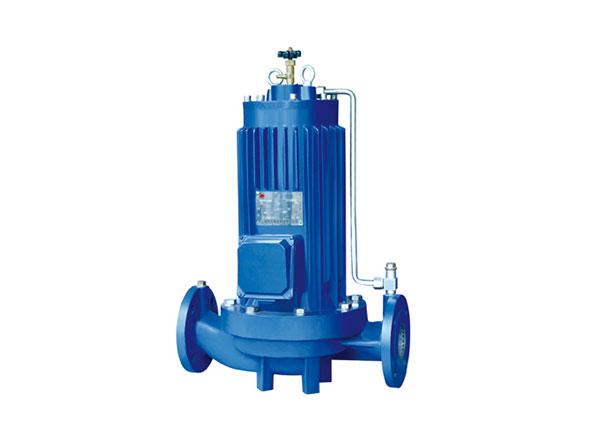 SPG型系类超低噪音完全无泄漏管道屏蔽泵
